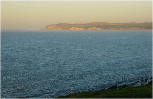 Cap Blanc Nez from Cap Gris Nez, in northern France on the English Channel. Photo by Eric Francis.