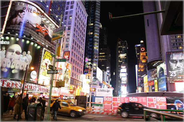Planet Waves is advertising free. Photo of Times Square by Eric Francis.