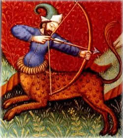 Sagittarius the archer.