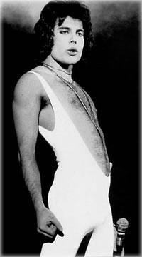 Mercury in a modern incarnation: the rock star Freddie Mercury.