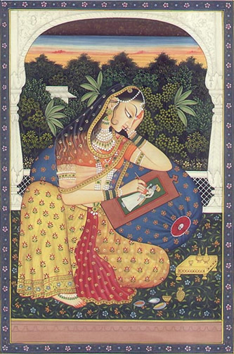 The goddess Shrimati Radha Rani, courtesy of Wikipedia.