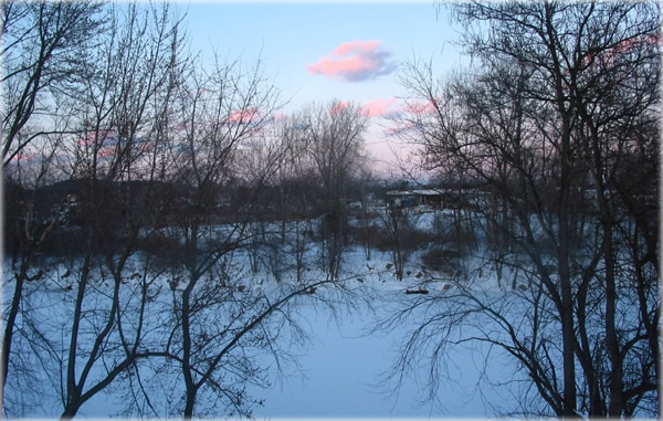 Rondout Creek, Kingston, New York. Photo by Priya Kale.